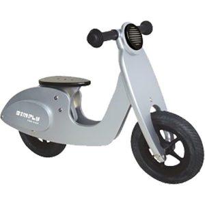 Scooter zilver
