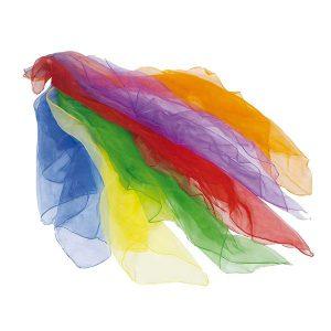 Fantasie doeken pakket van 6 kleuren