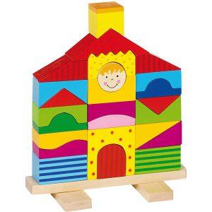 Stapelpuzzel huis