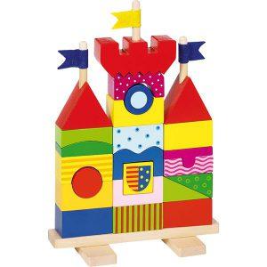 Stapelpuzzel kasteel