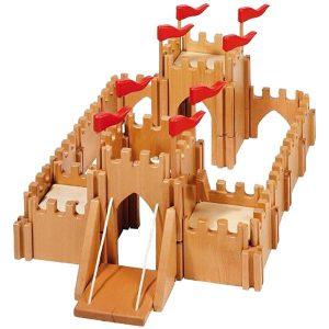 Kasteel met ophaalbrug van Holztiger