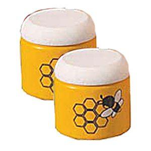 Twee potten honing