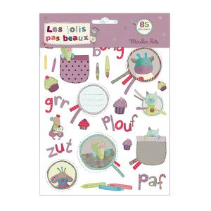 Moulin Roty Stickers Paars