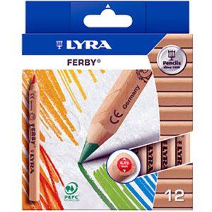 Lyra Ferby kort ass. 12 stuks