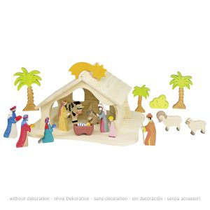 0600080348 Holztiget kerstfiguren